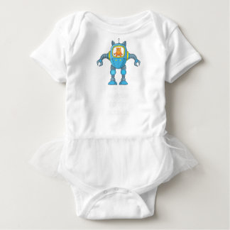 Stand Back Going To Try Science Funny Robot Cat Baby Bodysuit