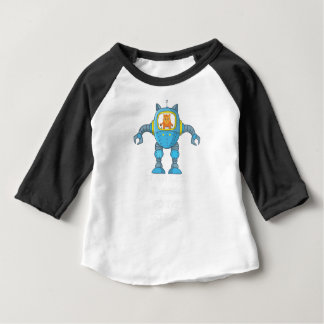 Stand Back Going To Try Science Funny Robot Cat Baby T-Shirt