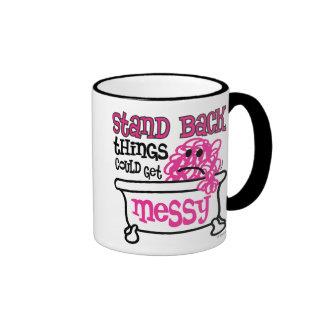 Stand Back Ringer Coffee Mug