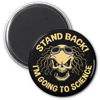Stand Back! Science 6 Cm Round Magnet