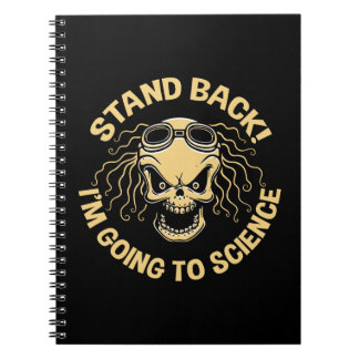 Stand Back! Science Spiral Notebook