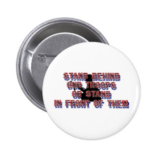 stand behind our troops pins