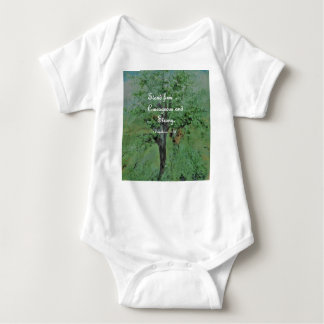 Stand Firm Courageous and Strong Baby Bodysuit