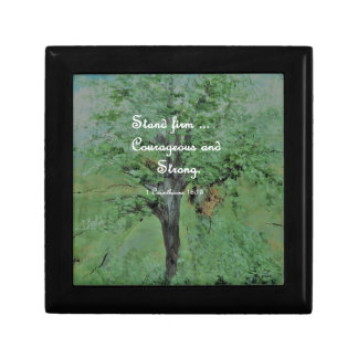Stand Firm Courageous and Strong Gift Box
