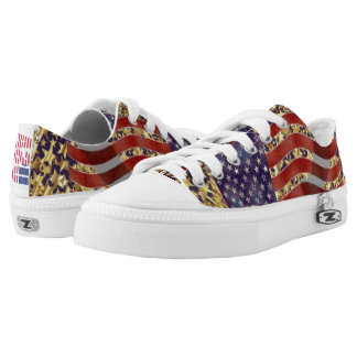 Stand for America Low Tops