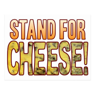Stand For Blue Cheese Postcard