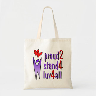 Stand For Love Tote Bag