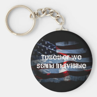 Stand Indivisible Key Ring