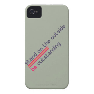 Stand on the outside be Outstanding iPhone 4 Covers