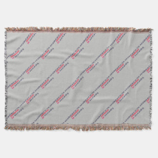 Stand on the outside be Outstanding Throw Blanket