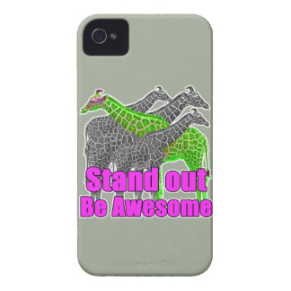 Stand out and be Awesome iPhone 4 Case-Mate Case