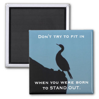 Stand Out Cormorant Magnet