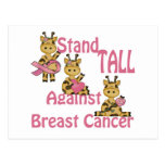 stand tall against breast cancer post card