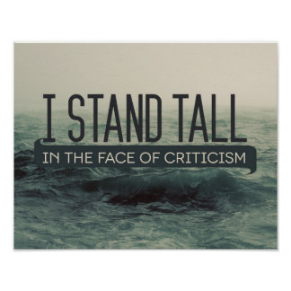 Stand Tall by Inspirational Downloads Poster