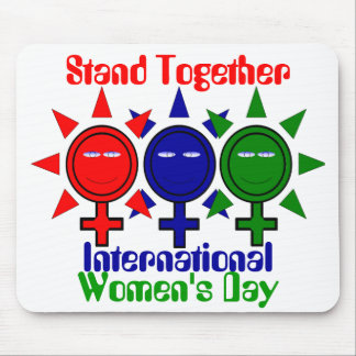 Stand Together International Women's Day Mouse Pad