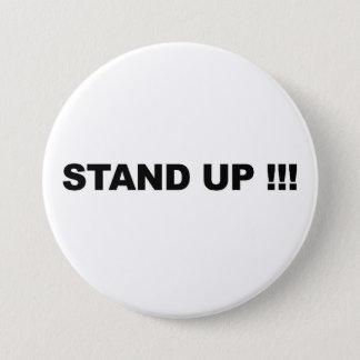 Stand Up! 7.5 Cm Round Badge