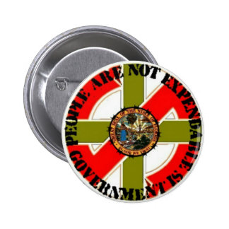 Stand Up & Fight Seal of DisApproval Pinback Button