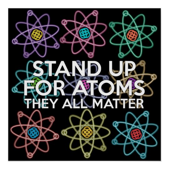 STAND UP FOR ATOMS POSTER