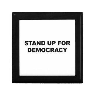 Stand Up for Democracy Small Square Gift Box