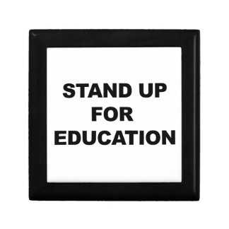 STAND UP FOR EDUCATION GIFT BOX
