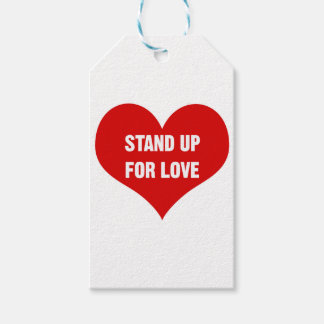 Stand Up for Love Gift Tags