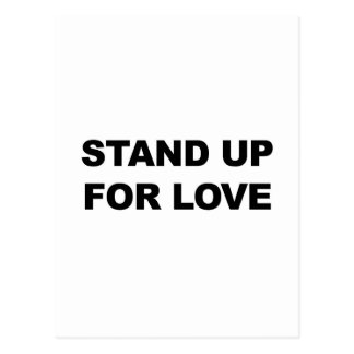 STAND UP FOR LOVE POSTCARD