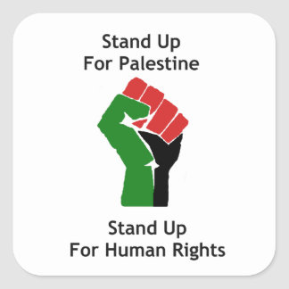 Stand Up For Palestine Sticker