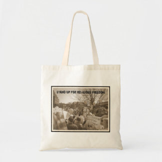 Stand Up For Religious Freedom Tote Bags