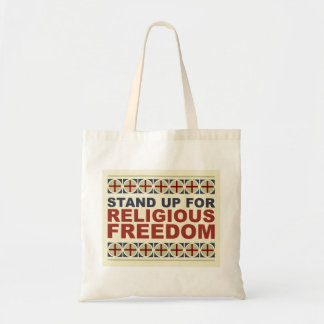 Stand Up For Religious Freedom Budget Tote Bag