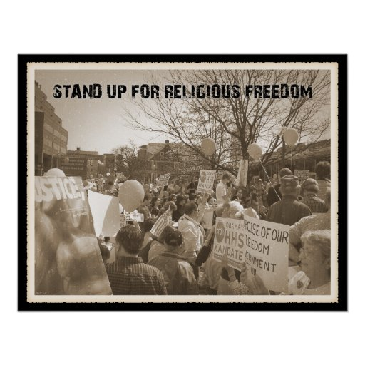 Stand Up For Religious Freedom Posters
