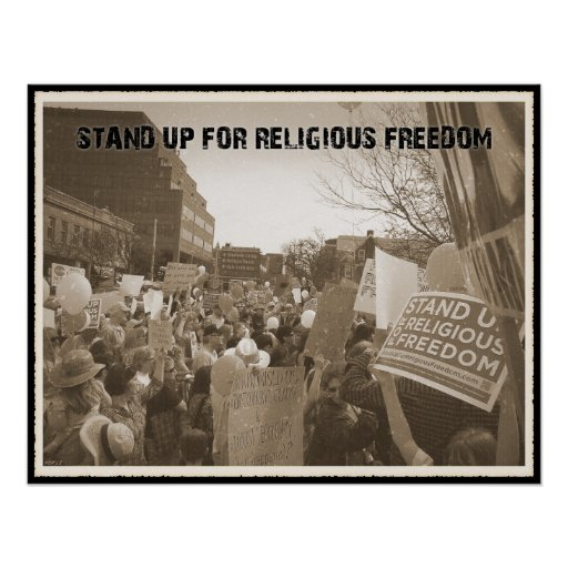 Stand Up For Religious Freedom Print