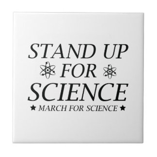 Stand Up For Science Tile