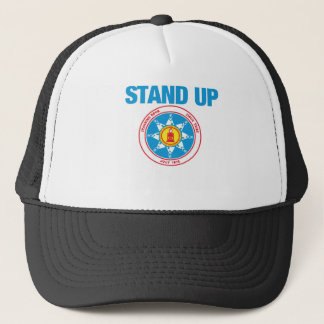 stand up for standing rock trucker hat