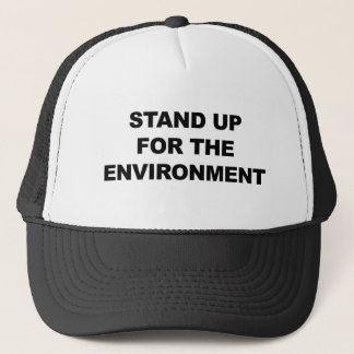 STAND UP FOR THE ENVIRONMENT TRUCKER HAT