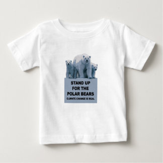 Stand Up for the Polar Bears Baby T-Shirt