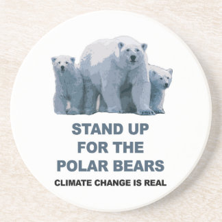 Stand Up for the Polar Bears Coaster