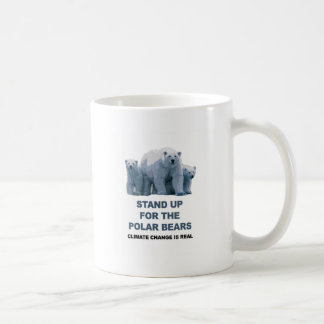 Stand Up for the Polar Bears Coffee Mug