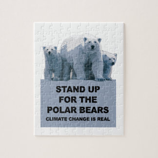 Stand Up for the Polar Bears Jigsaw Puzzle