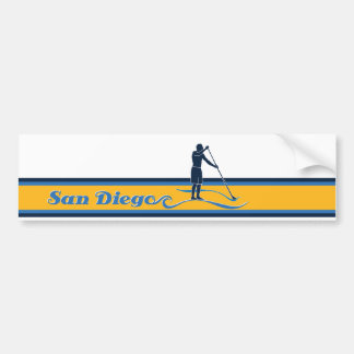 Stand Up Paddle San Diego Bumper Sticker