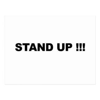 STAND UP! POSTCARD