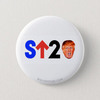 Stand Up to Trump! 6 Cm Round Badge