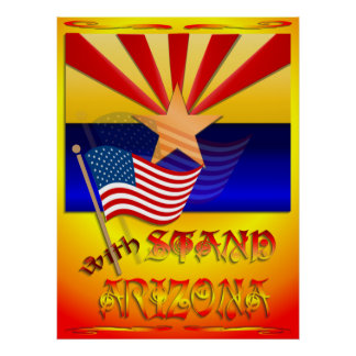 Stand With Arizona Print