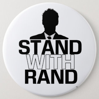 """Stand with Rand"" - Rand Paul 2016 Button"