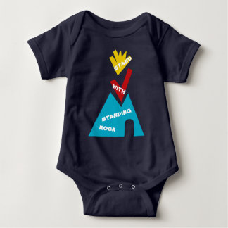 Stand with Standing Rock NoDAPL Baby Bodysuit