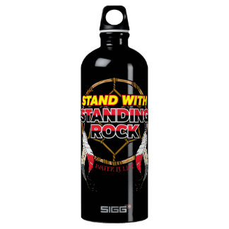 Stand With Standing Rock Water is Life Water Bottle