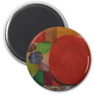 Standard 2 1/4 round magnet