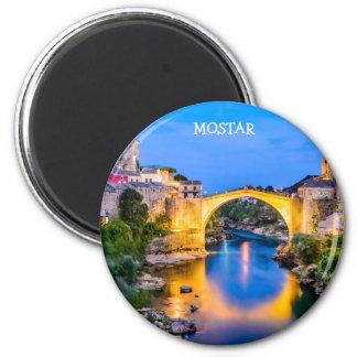 Standard, 2¼ Inch Round Magnet Mostar