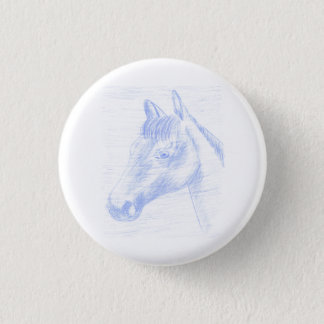Standard Button Drawn Horse