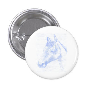 Standard Button Drawn Horse