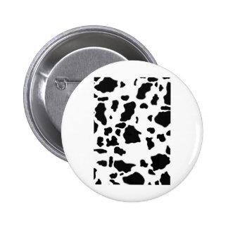 STANDARD COW PRINT 6 CM ROUND BADGE